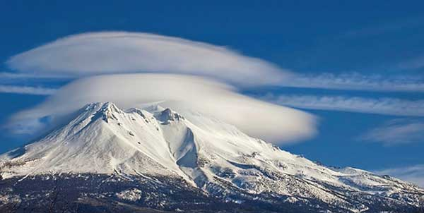 Mount Shasta, home of Telos